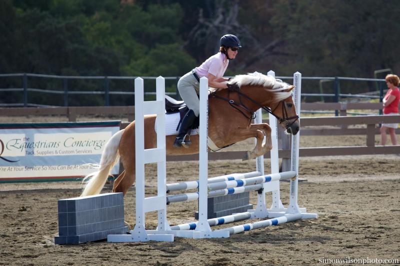Ellie jumping