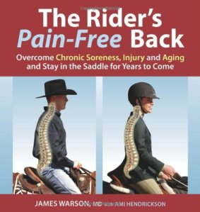 Rider's pain free back